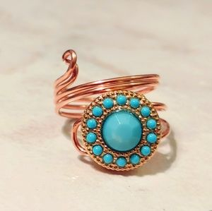 Ring, turquoise